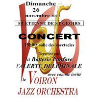 Concert - L'Alerte Delphinale reçoit le Voiron Jazz Orchestra