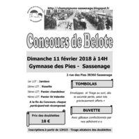 Concours de belote de la Société mycologique de Sassenage