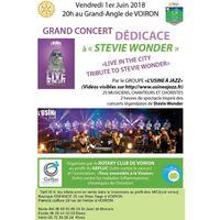 Concert dédicace à Stevie Wonder - au Grand Angle à Voiron