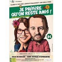 """"""" J'préfère qu'on reste amis ! """" de Laurent Ruquier"""