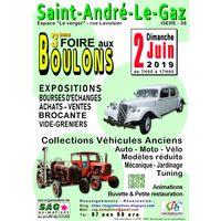 3ème Foire aux Boulons de Saint André Le Gaz