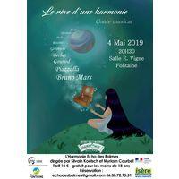 Gala Aniversaire de l'Harmone Echo des Balmes