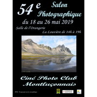 54e Salon Photographique du Ciné PhotoClub Montluçonnais