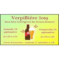 VerpiBière 2019 - 6eme Salon Interrégional des Artisans Brasseurs
