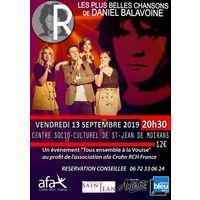 Concert les plus belles chansons de Daniel Balavoine