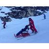 Activité d'hiver pour Personnes âgées / Handicapées : Tandem Ski