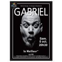 """3 ème édition de St Georges fait sa comédie : """"Gab, le meilleur"""""""