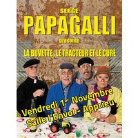 Nouveau spectacle Serge Papagalli
