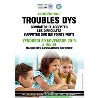 Conférence sur les troubles dys