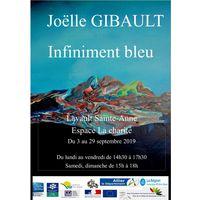 Exposition INFINIMENT BLEU