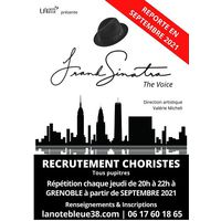 Recrutement choristes tous pupitres : F.SINATRA THE VOICE
